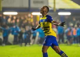 Sterling-James Steps Back Into Football League