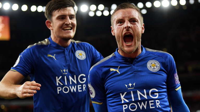 Chelsea target Vardy returns to Leicester training