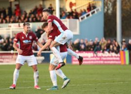 Shields Back On Top – Hyde`s Long Unbeaten Run Comes To An End